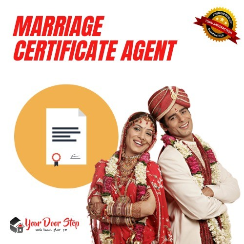 marriage certificate agent