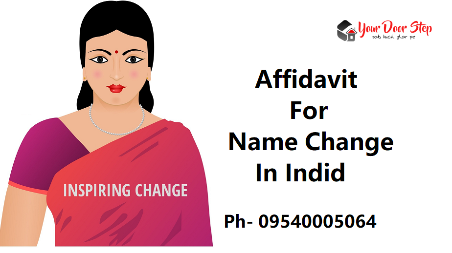 Affidavit For Name Change-In-India