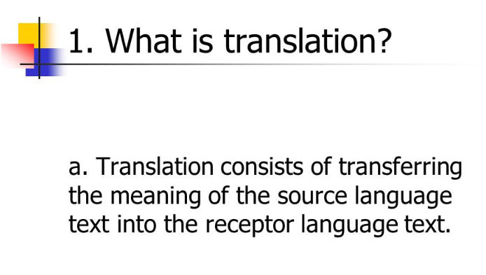 What is document translation