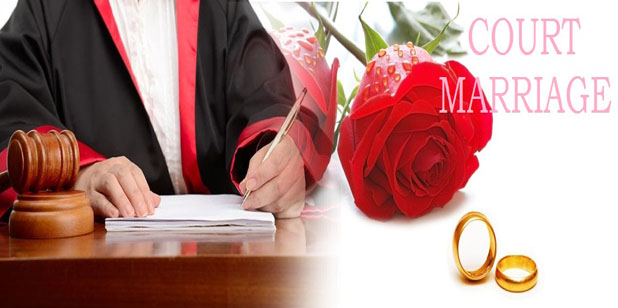 court marriage procedure