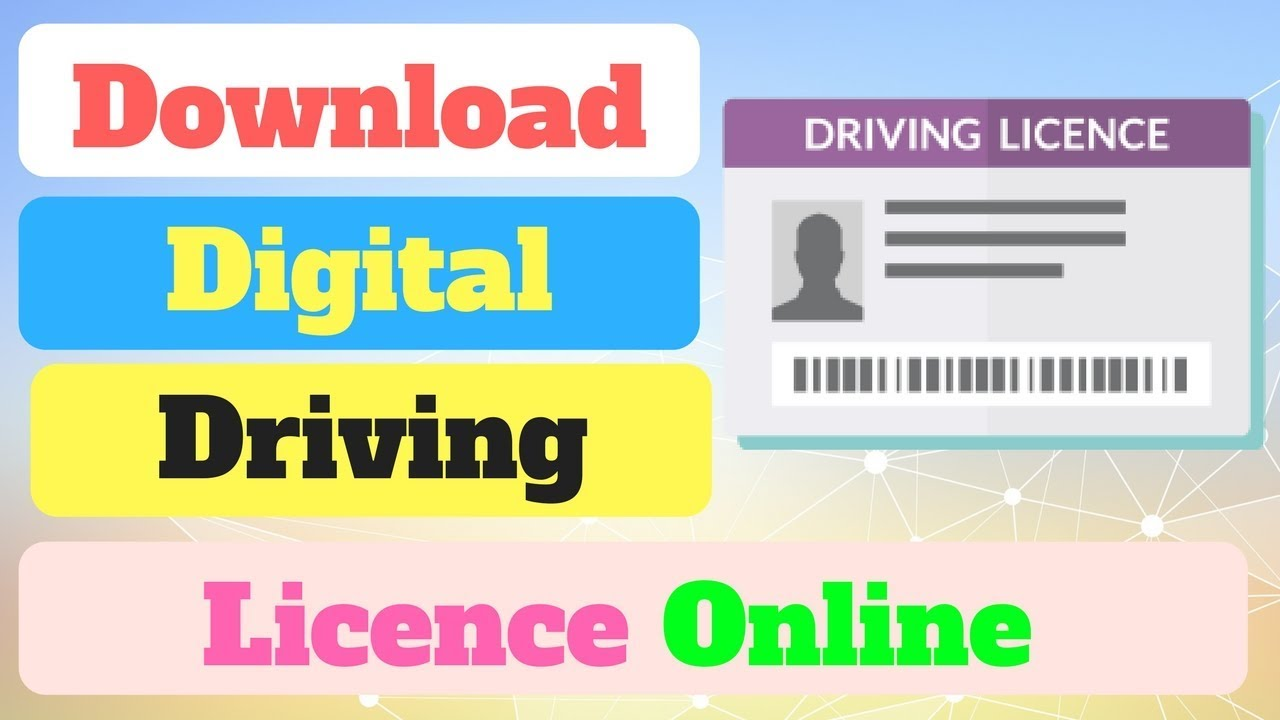 how to download driving licence