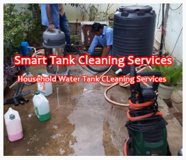 Household Water Tank Cleaning