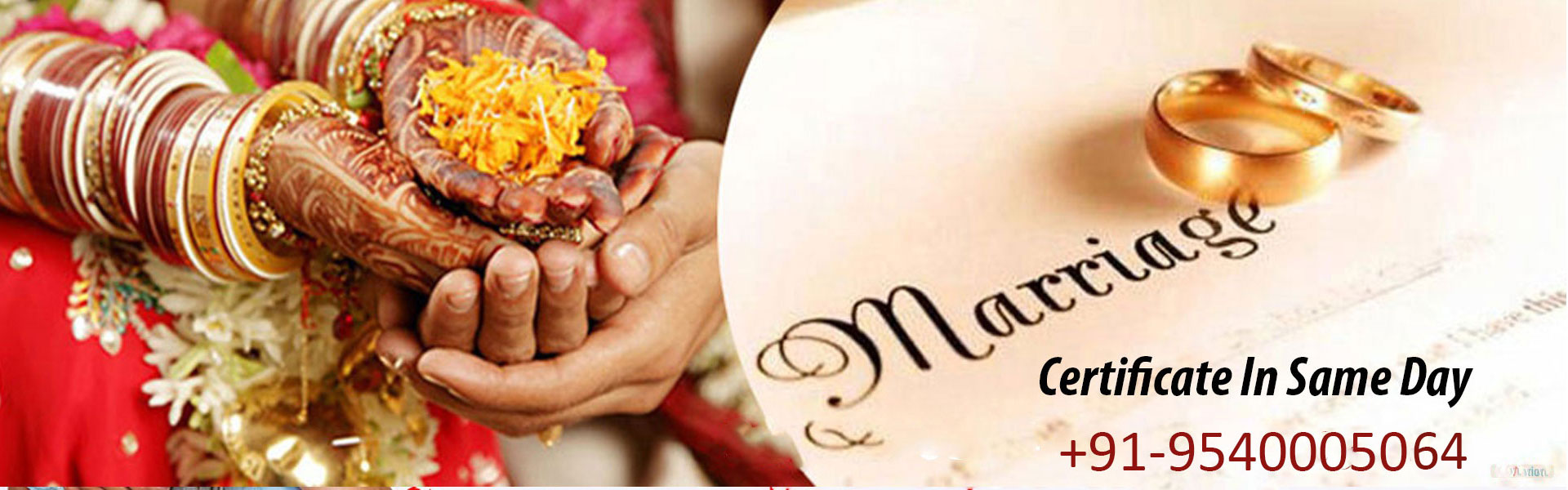 marriage certificate in faridabad