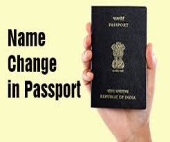 Name Change in Passport-ads