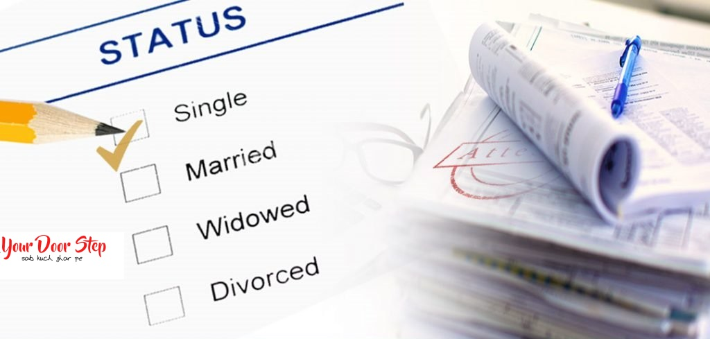 single status certificate in dwarka