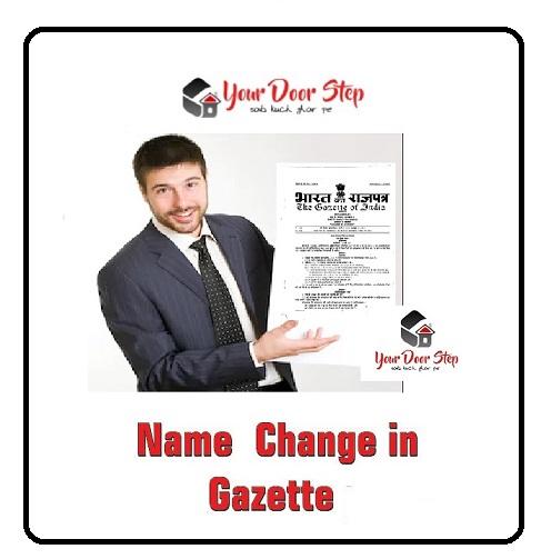 Name change in Gazette