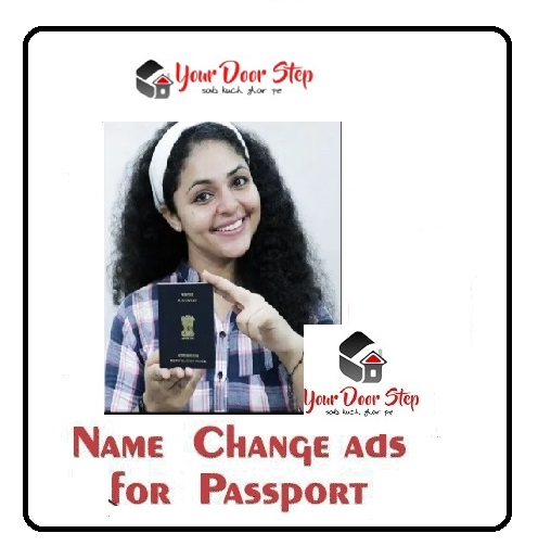Name change Ads for Passport