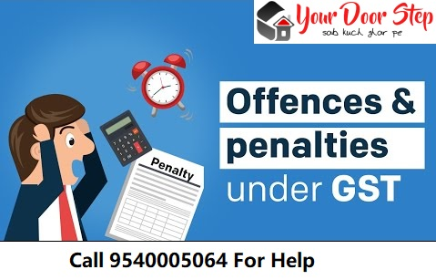 PENALTIES INVOLVED UNDER GST ACT